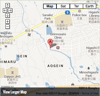Google Map of Minoh International Church 箕面国際教会